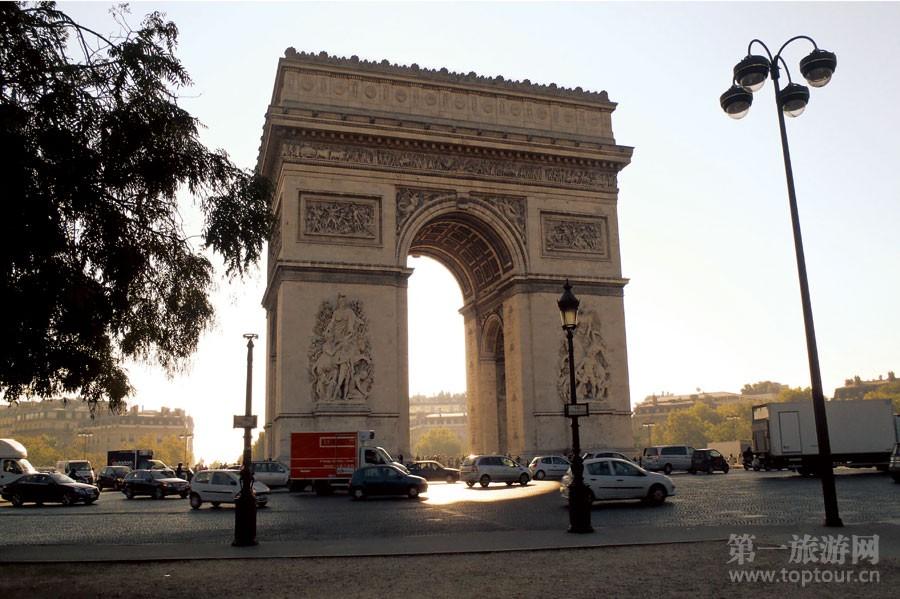 巴黎凯旋门<br>